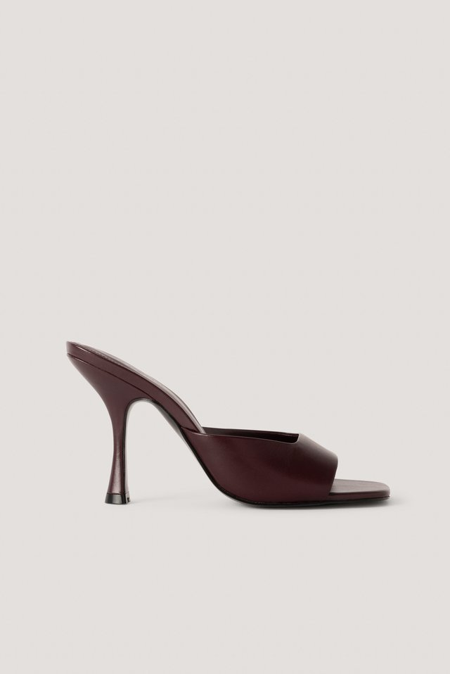 Lute Sandals Bordeaux