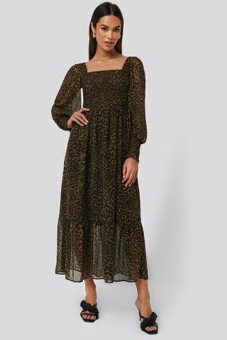 Brown Lyon Dress