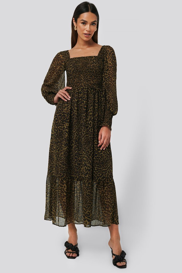 Brown Lyon Dress
