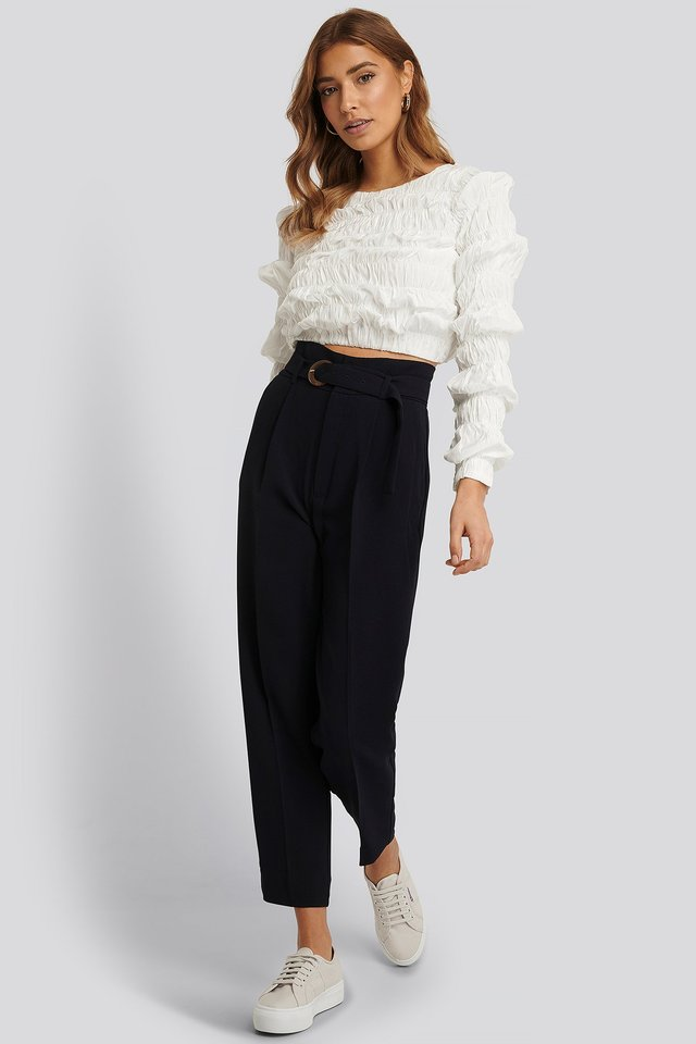 Manuel Trousers Navy