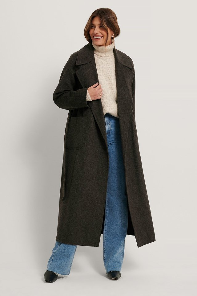 Marlon Coat Light Brown