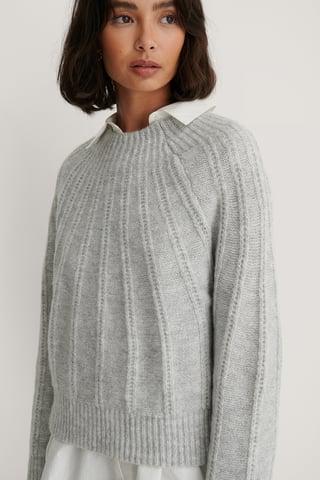 Grey Marmu Sweater