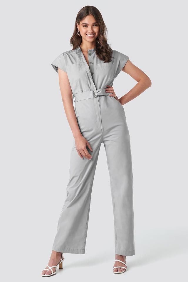 Marti Jumpsuit Grey