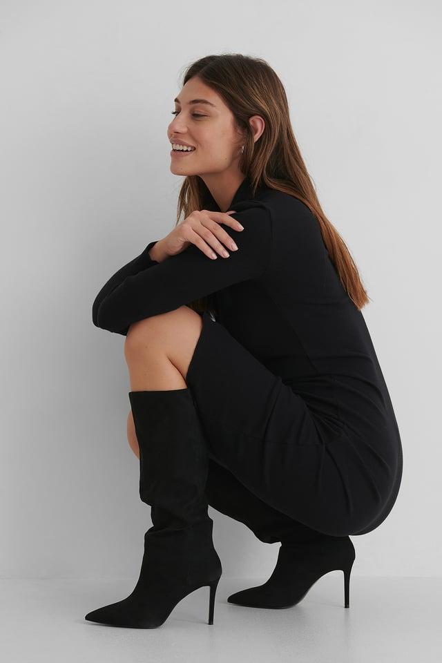 Black Matra Boots