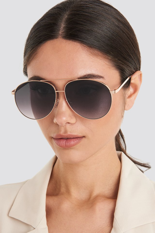 Meagan Sunglasses Gold