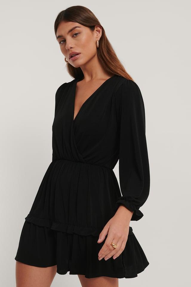 Moss Dress Black