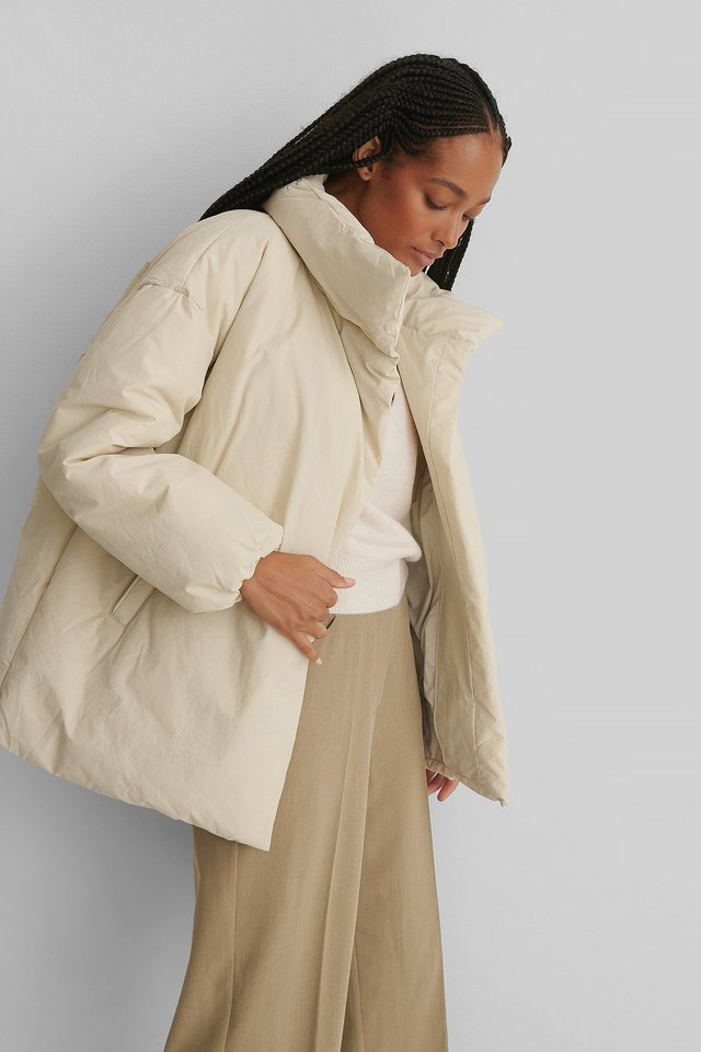 Nata Anorak Light Beige