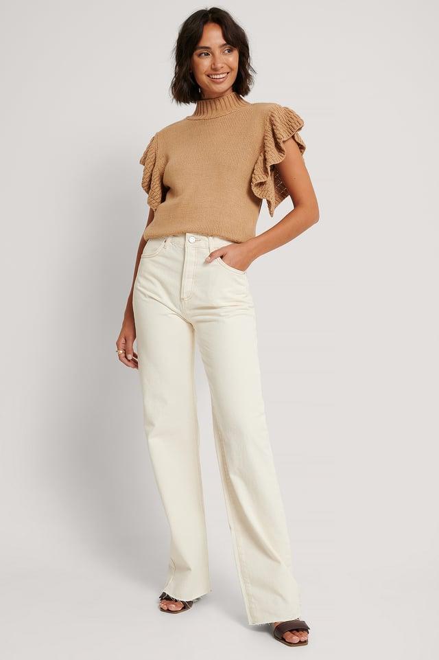 Light Beige Jeans