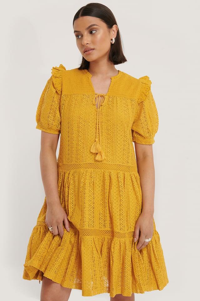 Pasion Dress Mustard