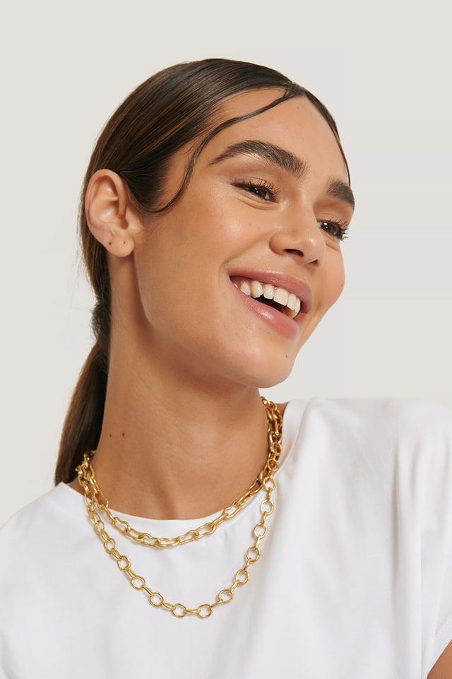 Pita Necklace Gold