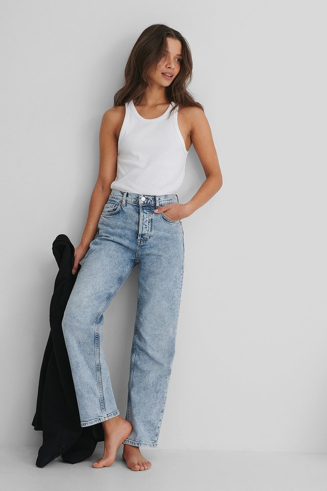 Denim Premium Crop Jeans
