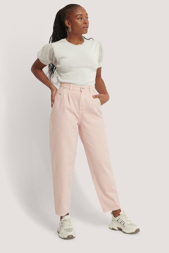 Pink Regina Jeans