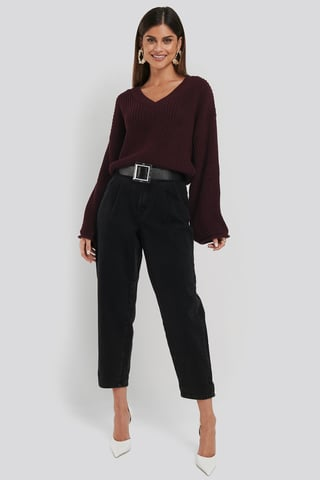 Open Grey Regina Jeans