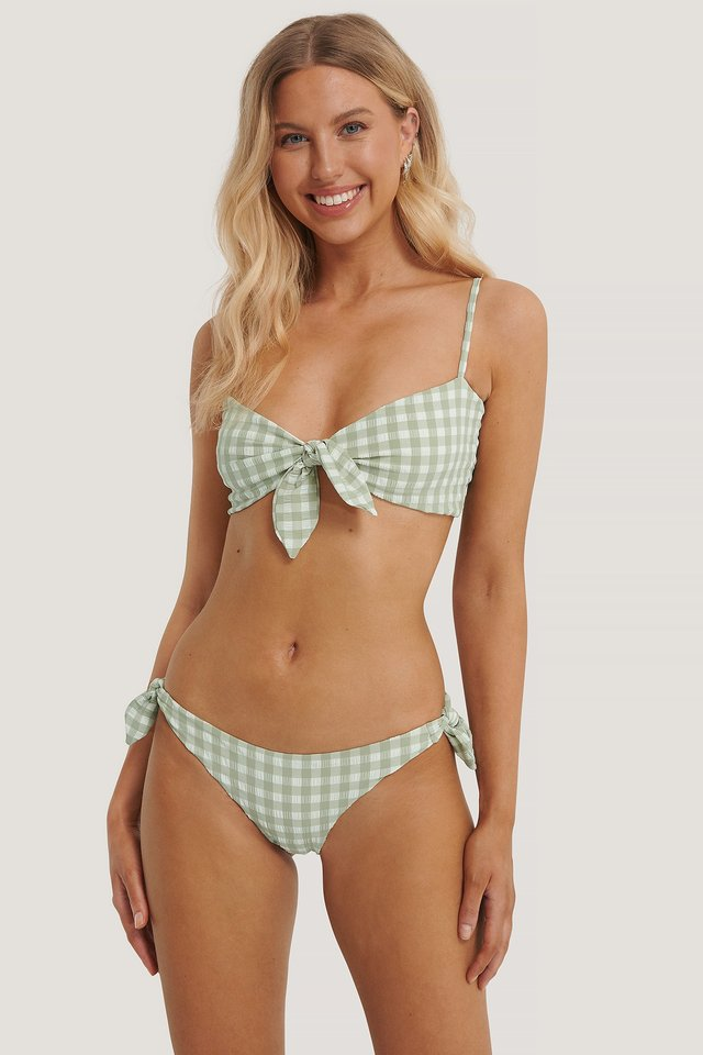 Bikiniunderdel Pastel Green
