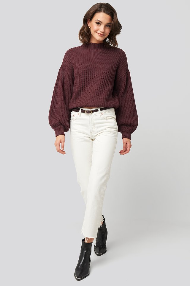 Sayana Jeans Offwhite