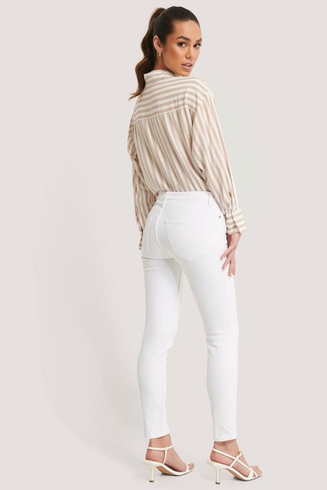 Sculpt Jeans White