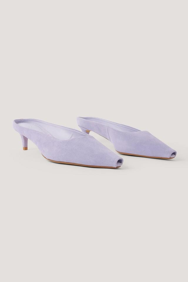Pastel Purple Sumire Shoes