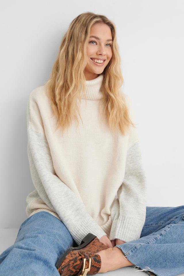 Taldorac Sweater Light Beige
