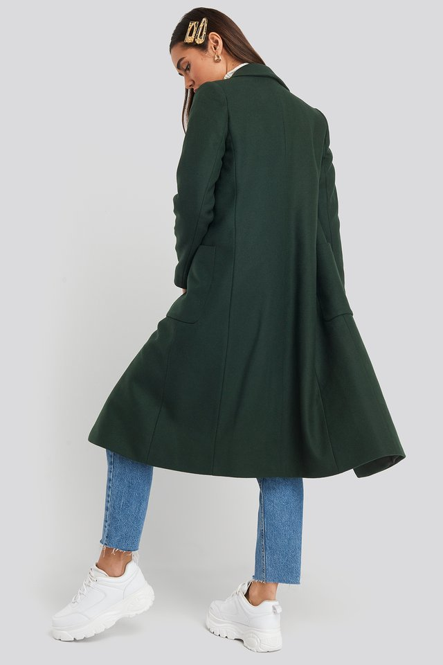 Timver Coat Dark Green