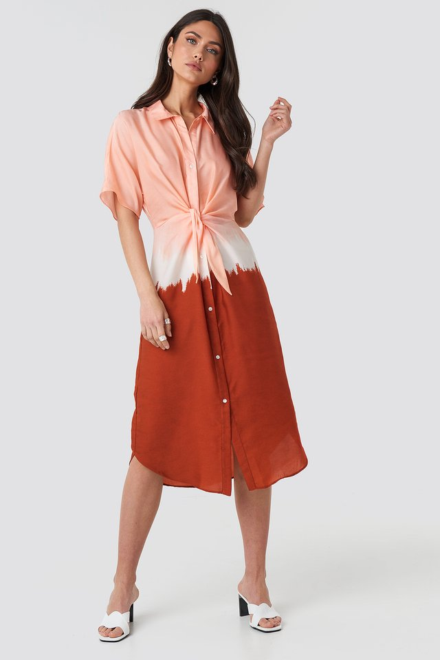 Toky5 Dress Coral