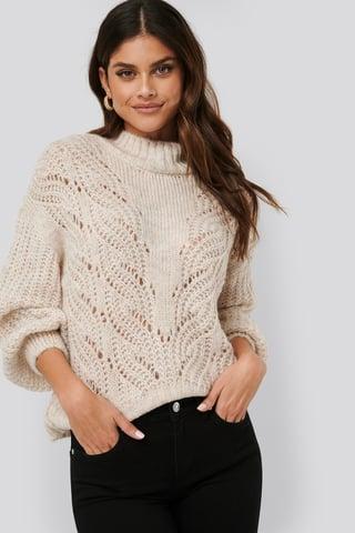 Grey Stone Tornado Sweater