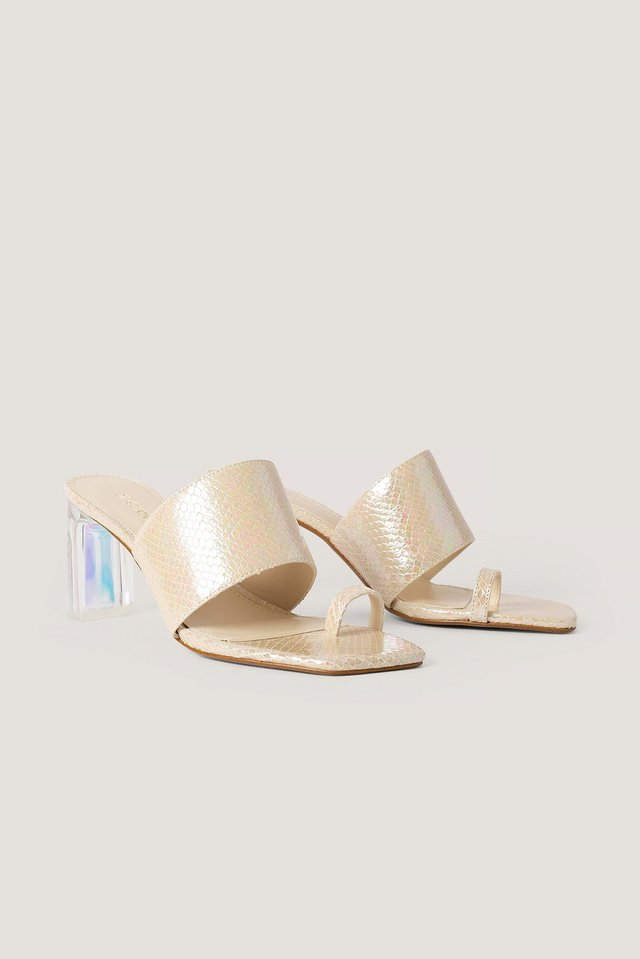 Tran Sandals Nude