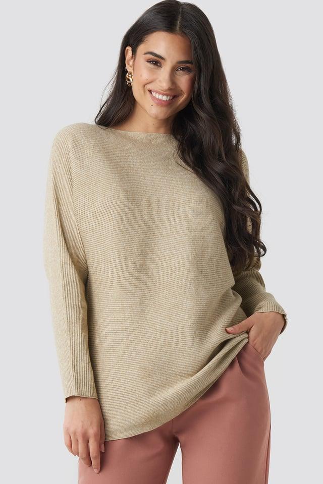 Taupe Vanessa Sweater