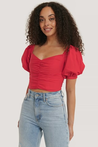 Red Venice Blouse