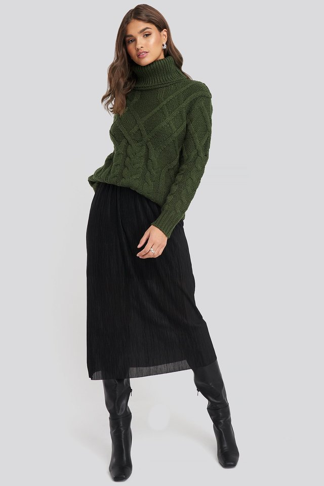 Black Vices Skirt