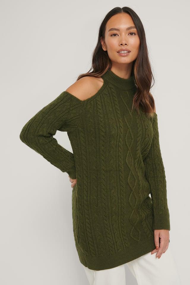 Green Vina Dress