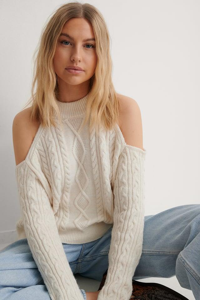 Light Beige Vina Sweater