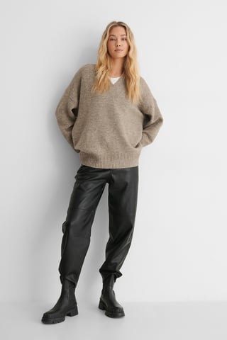 Black Wally Trousers
