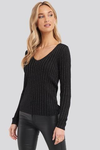 Black Whitney Sweater