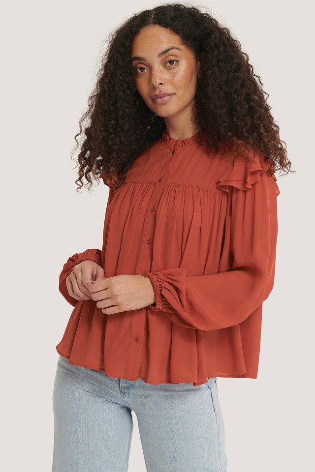Red Zadicre Blouse
