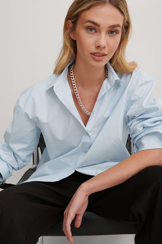 Light Blue Skjorte