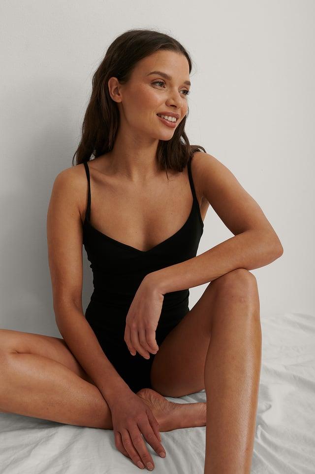 Black Strap Jersey Body