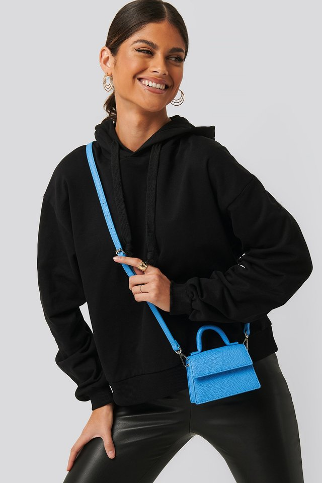 Micro Top Handle Bag Ocean Blue