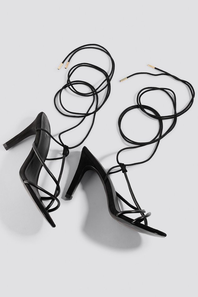 Strappy Sandal Black