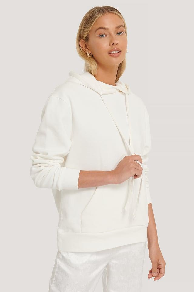 Oversize-Hoodie White