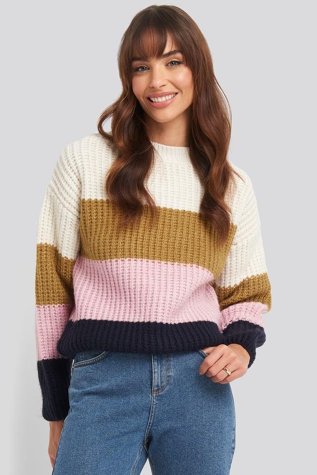 Rainbow Sweater Navy