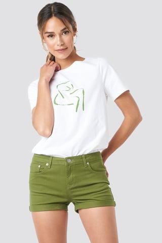Khaki 5 Pocket Shorts