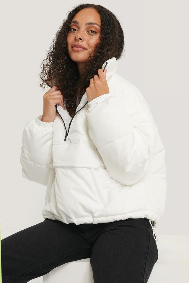 Anorak Padded Jacket White