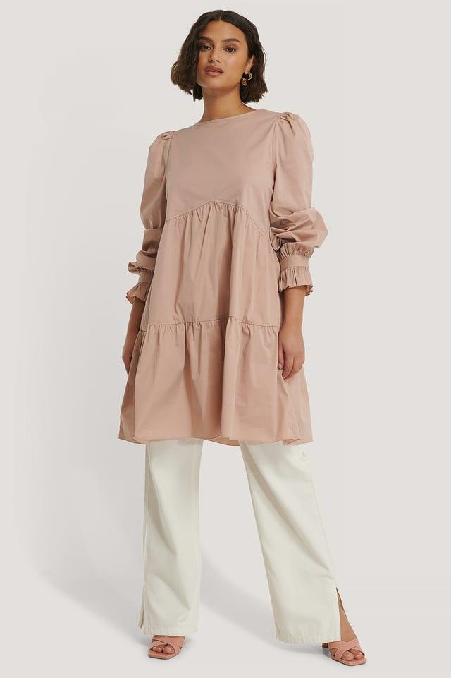 Kleid Dusty Pink
