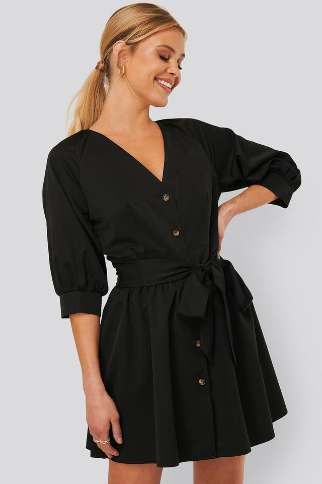 Minikleid Black