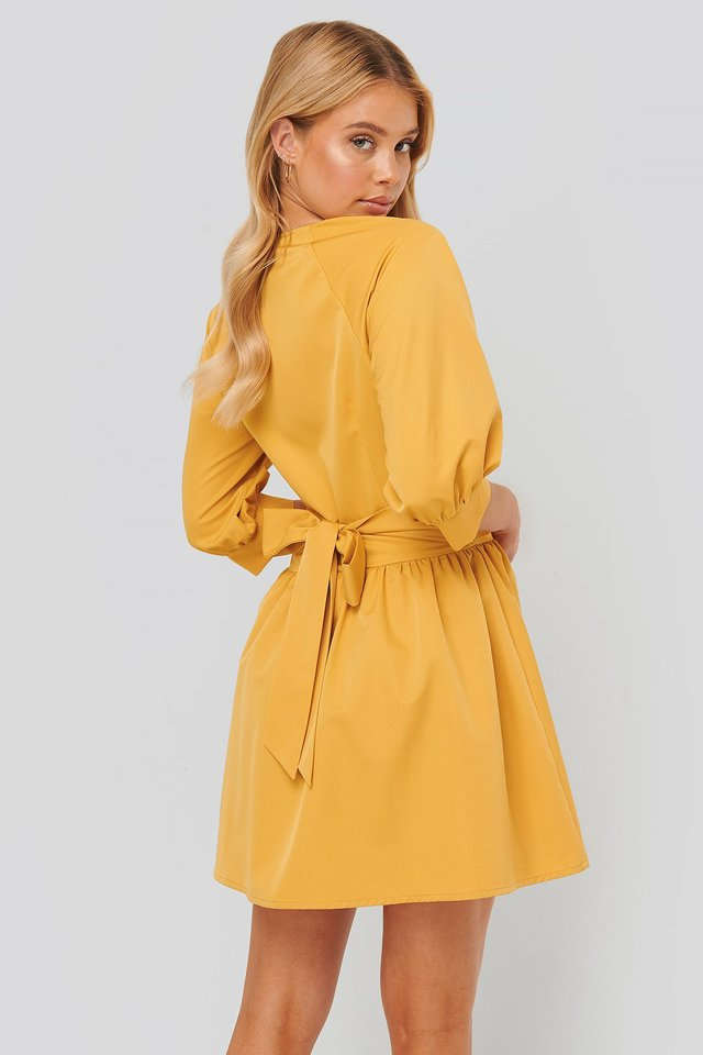 Minikleid Yellow