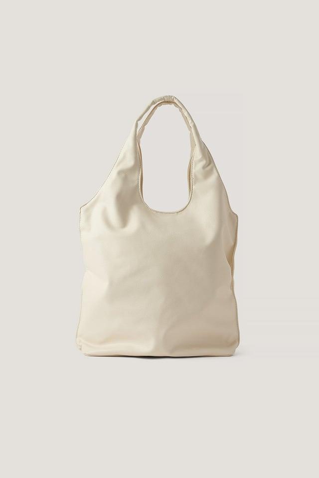 Basic Hobo Bag Off White