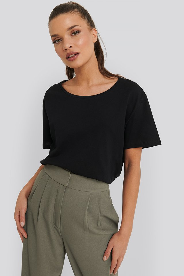 Basic Oversized Tee Black