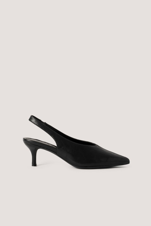 Black Basic Slingback-Avokkaat