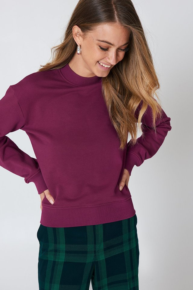 Basic Sweater Burgundy