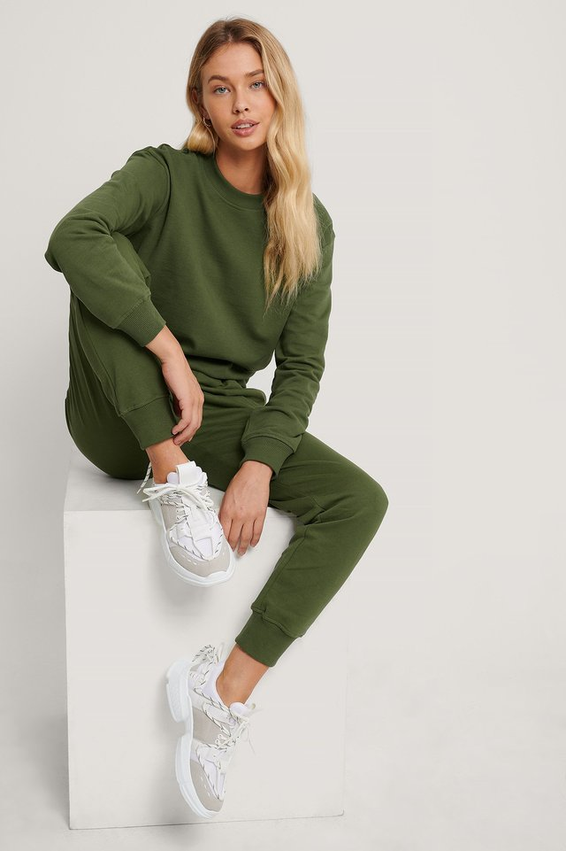 Basic Sweater Deep Khaki